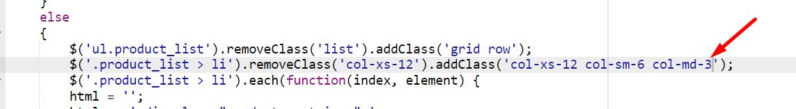 cambio javascript