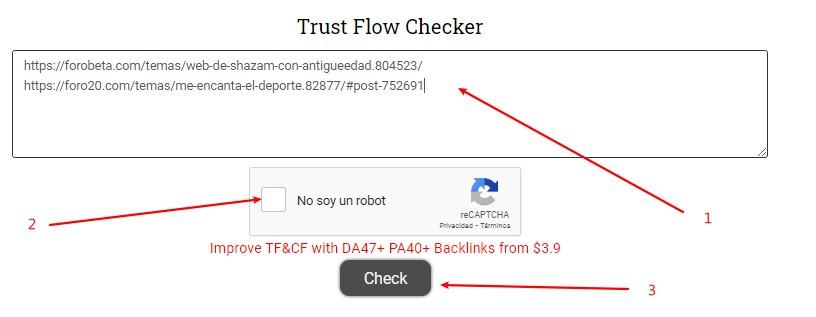 checkear trust flow y citation flow