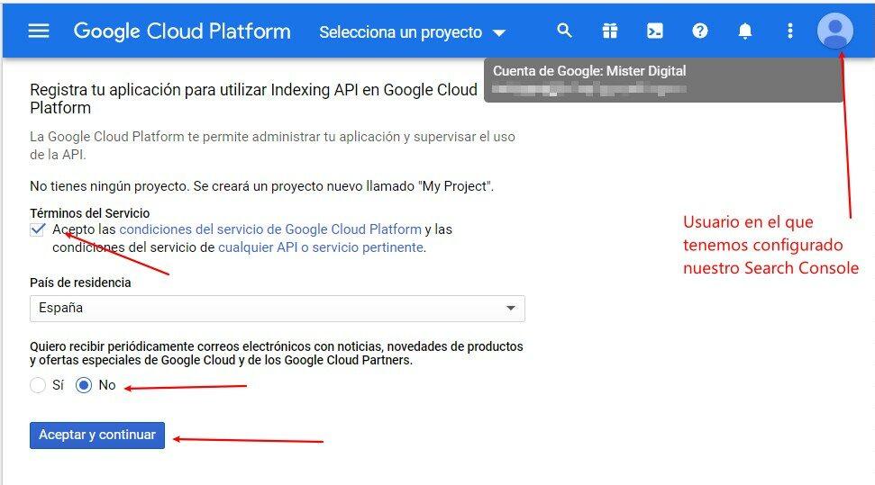 crear-proyecto google cloud plataform