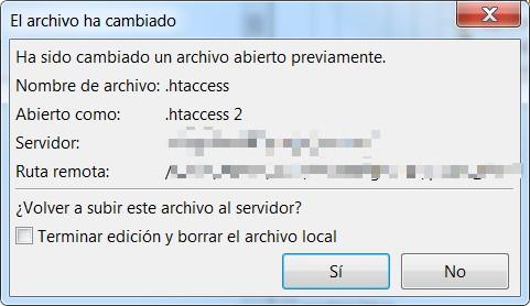 archivo ha cambiado